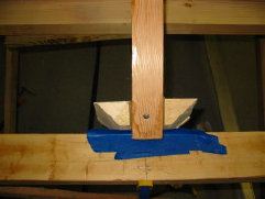 Stem Block With Rabbit Cut For Inner Keel