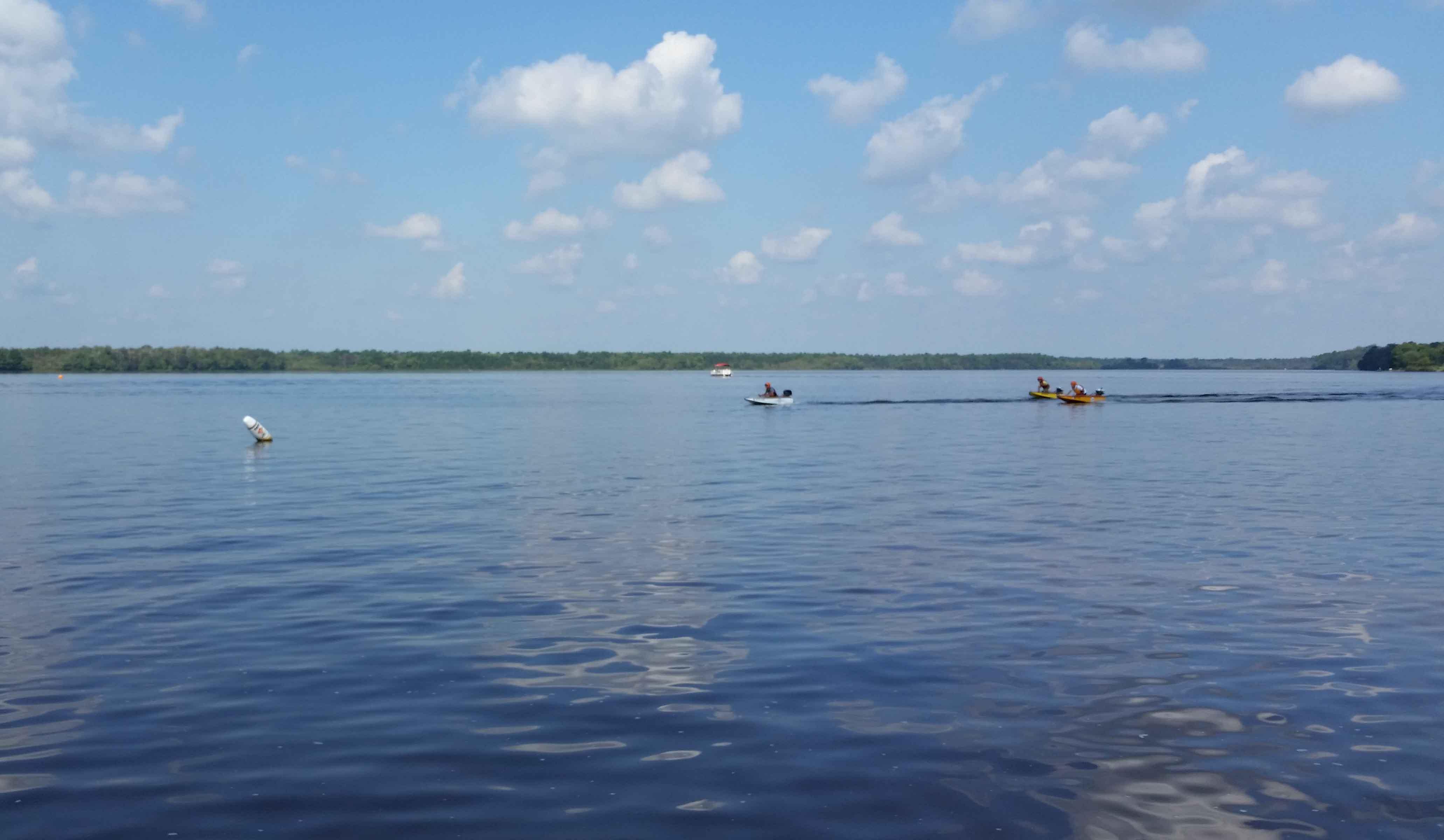 Smooth Sailing At Union Lake!